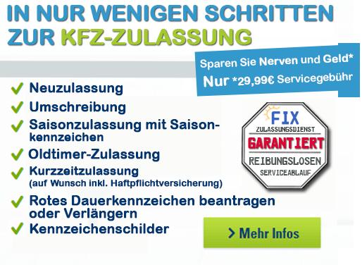 Zulassung 29,99€