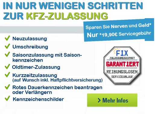 Fix Kfz Zulassungsdienst berlin